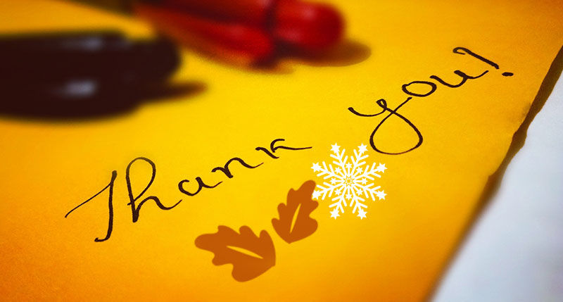 A Thank-You To Patients and Friends